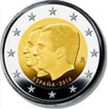 Monedas Felipe VI (Euros)