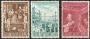 Serie sellos Vaticano 0299-01. Translado restos mortales Pío X