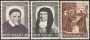 Serie sellos Vaticano 0313-15.San Vicente Paúl-Sta Luisa de Mari