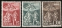 Serie sellos Vaticano 0319-21.XV Cent. muerte San León Magno