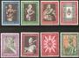 Serie sellos Vaticano 0363-70.Concilio Ecuménico Vaticano II