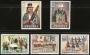 Serie sellos Andorra 080-84. Costumbres populares