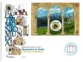 0876. Matasello Monumentos Oviedo- Reino Asturias Oviedo-10/5/17
