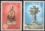 Serie sellos Andorra 089-90. Europa