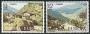 Serie sellos Andorra 108-09. Europa