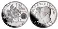 Año 2015. Moneda 30€ Felipe VI - El Quijote