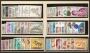 Año completo de sellos 1967 (sin trajes)