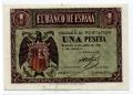 Billete Estado Español 0001 peseta Burgos 1938 SC