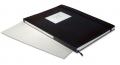 Clasificador sellos Travel 24 pg. Cartón blanco. Bandas brillant