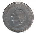 Colección 19 Monedas Gulden de Plata. Reina Juliana Holanda