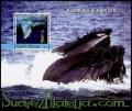 Hoja bloque Guinea Bissau 2004 (**). Ballenas y faros 1