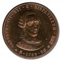 Medalla Centenario Carlos III Bronce. Año 1988