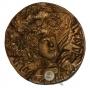 Medalla conmemorativa de la pintora Julia Alcayde