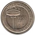 Medalla de Bélgica TV 2003. S/C