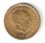 Moneda 001 peseta 1953 *19.61 .SC.FALLO CUÑO
