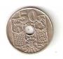 Moneda 0,50 céntimos peseta 1949*51.MBC