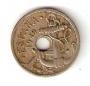 Moneda 0,50 céntimos peseta 1949.BC.TALADRO DESPLAZADO