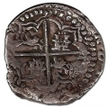 Moneda 1618/21. 8 Reales Felipe III (1618/21-T) POTOSÍ.MBC-