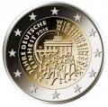 Moneda 2 euros Alemania 2015 Reunificación. Juego (A,D,F,G,J)