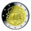 Moneda 2 euros Alemania 2007 Tratado Roma. Juego A, D, F, G y J