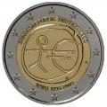 Moneda 2 euros Alemania 2009 EMU. Juego 5 monedas (A,D,F,G,J)