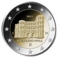Moneda 2 euros Alemania 2017 - Renania. Juego 5 Cecas