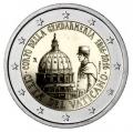 Moneda 2 euros de Vaticano 2016 - Bicent. Gendarmeria