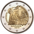 Moneda 2 euros de Eslovaquia 2017 - Universidad Istropolitana