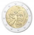 Moneda 2 euros de Francia 2017. Auguste Rodin