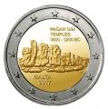 Moneda 2 euros de Malta 2017 - Templo Magar Qim