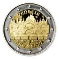 Moneda 2 euros de Italia 2017. Venecia