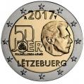 Moneda 2 euros de Luxemburgo 2017 - Servicio Militar Voluntario