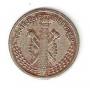 Moneda Consejo Asturias y León 0,50 céntimos peseta 1937.MBC+