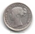 Moneda Gran Bretaña 03 PENCE - PENIQUES 1877 REINA VICTORIA MBC