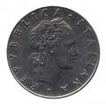 Moneda Italia 050 Liras 1964 MBC