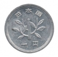 Moneda Japón 0001 Yen. MBC