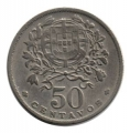 Moneda Portugal  0,50 centavos 1968 . MBC