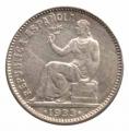 Moneda República 01 peseta 1933*34.EBC
