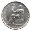 Moneda República 01 peseta 1933*34. SC-