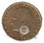 Monedas. 100 pesetas MBC (flor hacia anverso)