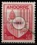 Serie de sellos Andorra Francesa nº 0094 S/G