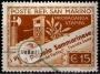 Serie de sellos San Marino nº 0225 (*)