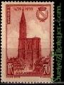 Serie sellos Francia 0443 (**). Strasbourg