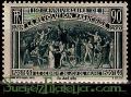 Serie sellos Francia 0444 (**). Aniv. Rev. Francesa