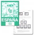 Suplemento 2016 sellos España 1ª parte.  Montado