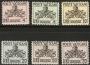 Serie sellos Vaticano Tasa 19-24