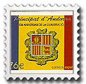Sellos. Andorra española