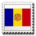 Sellos Andorra española y Veguería