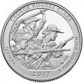 Monedas. 1/4 DOLAR PARQUES NACIONALES