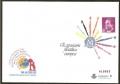 017-18. Sobre Entero Postal Exp. Filatélica Europea. JUEGO